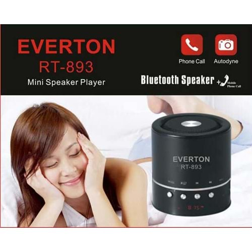 EVERTON RT-893 BLUETOOTH HOPARLÖR